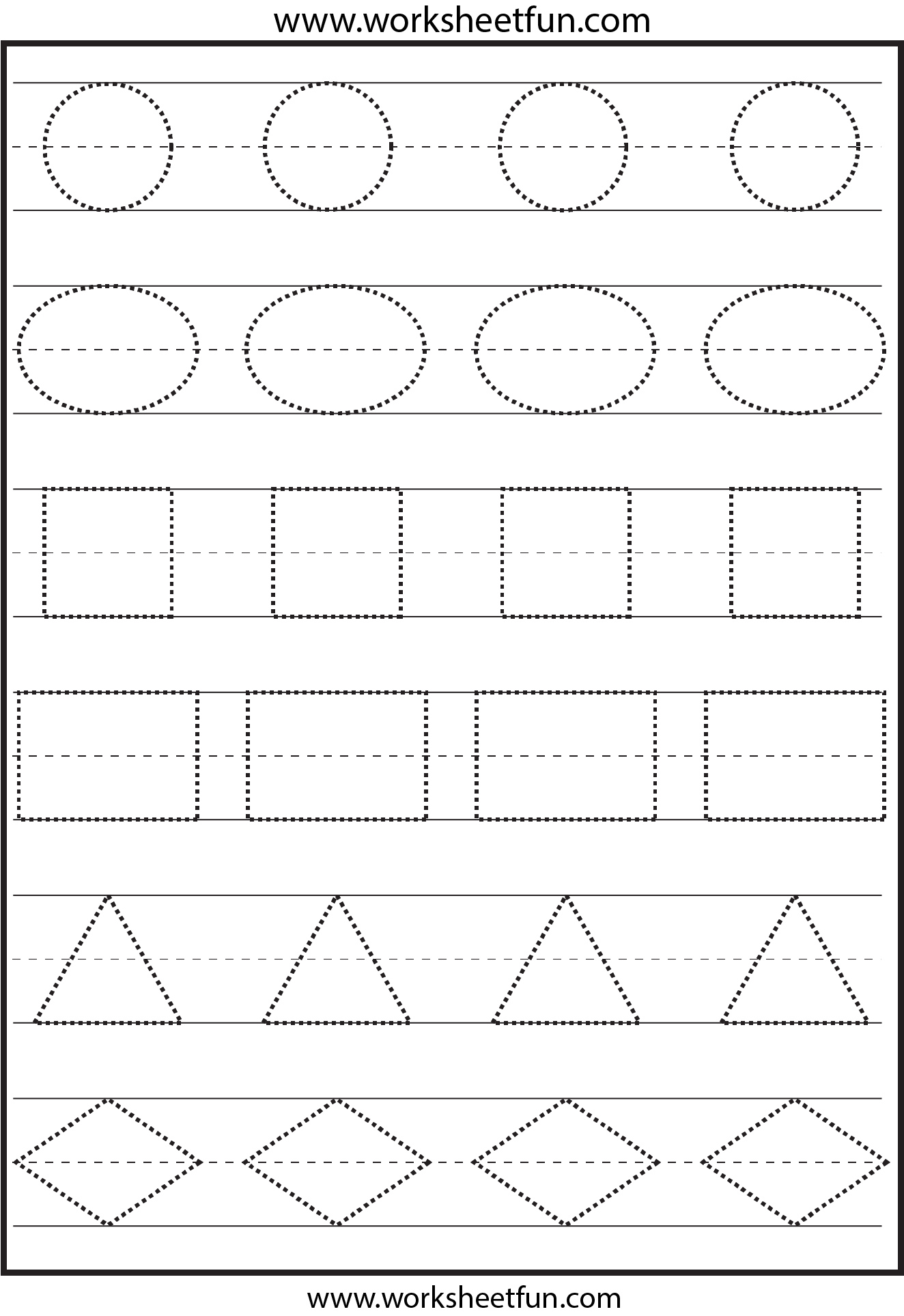 6 Best Images Of Preschool Printables Shapes