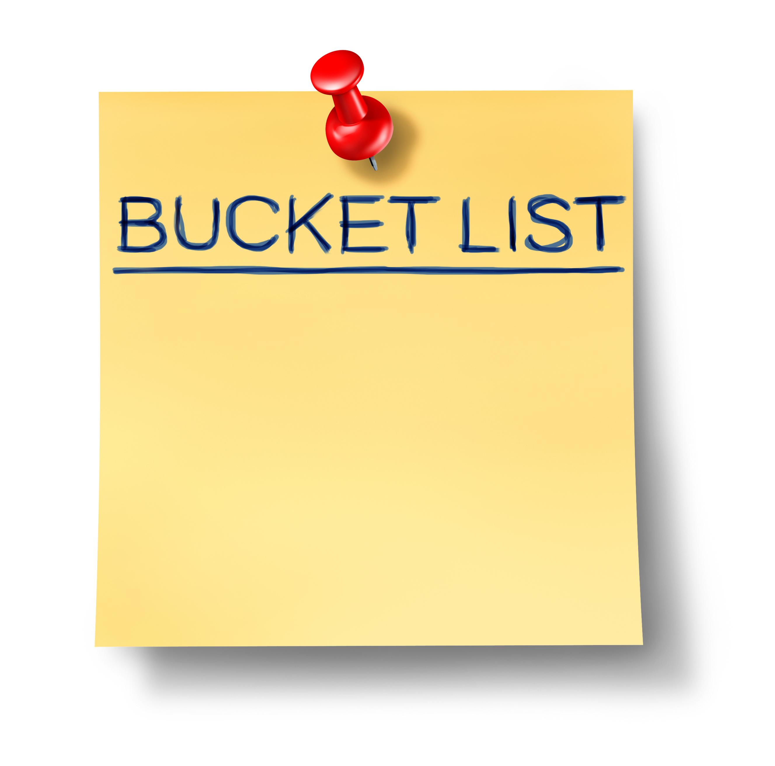 Bucket Summer Tumblr List