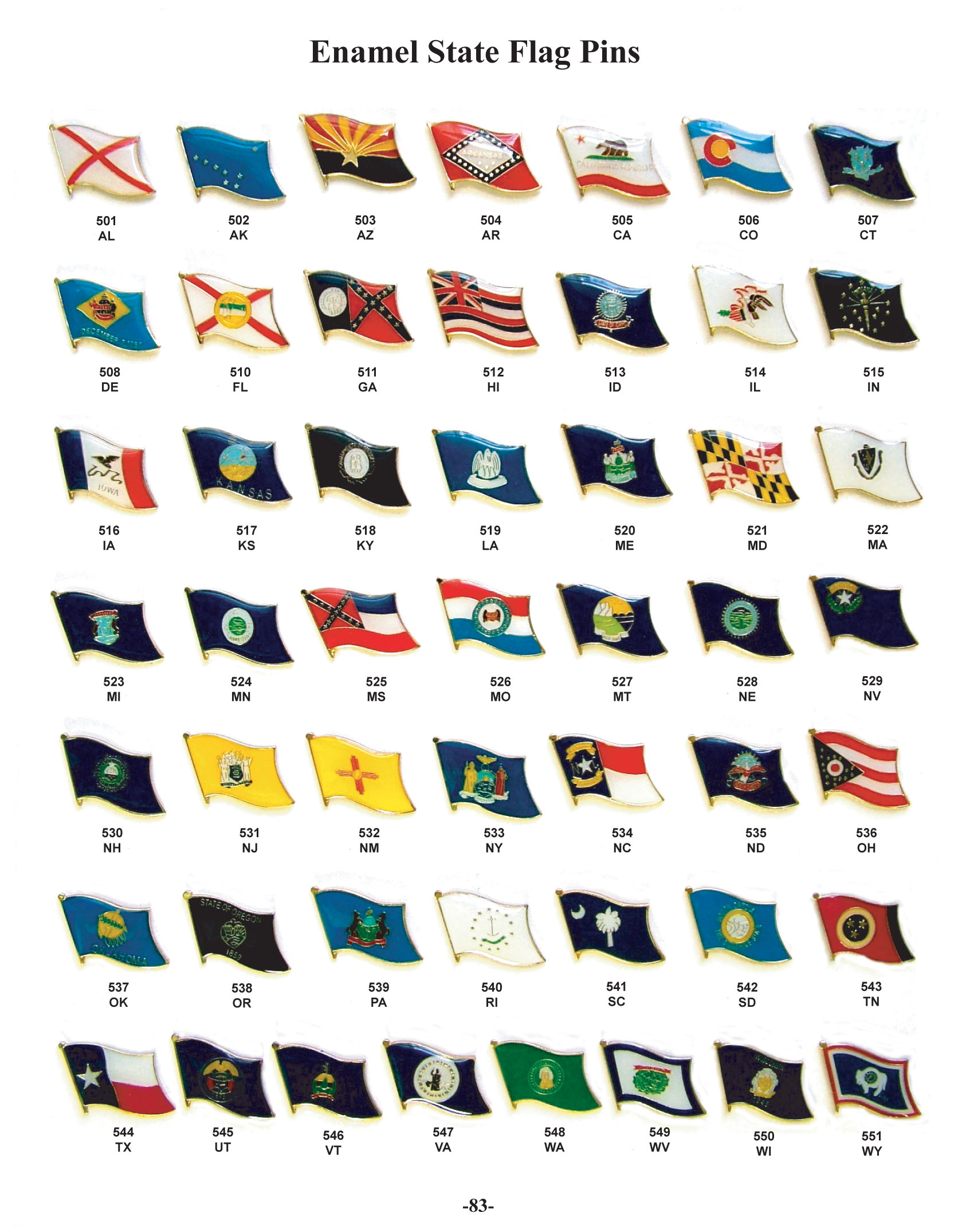 6 Best Images Of Printable State Flags
