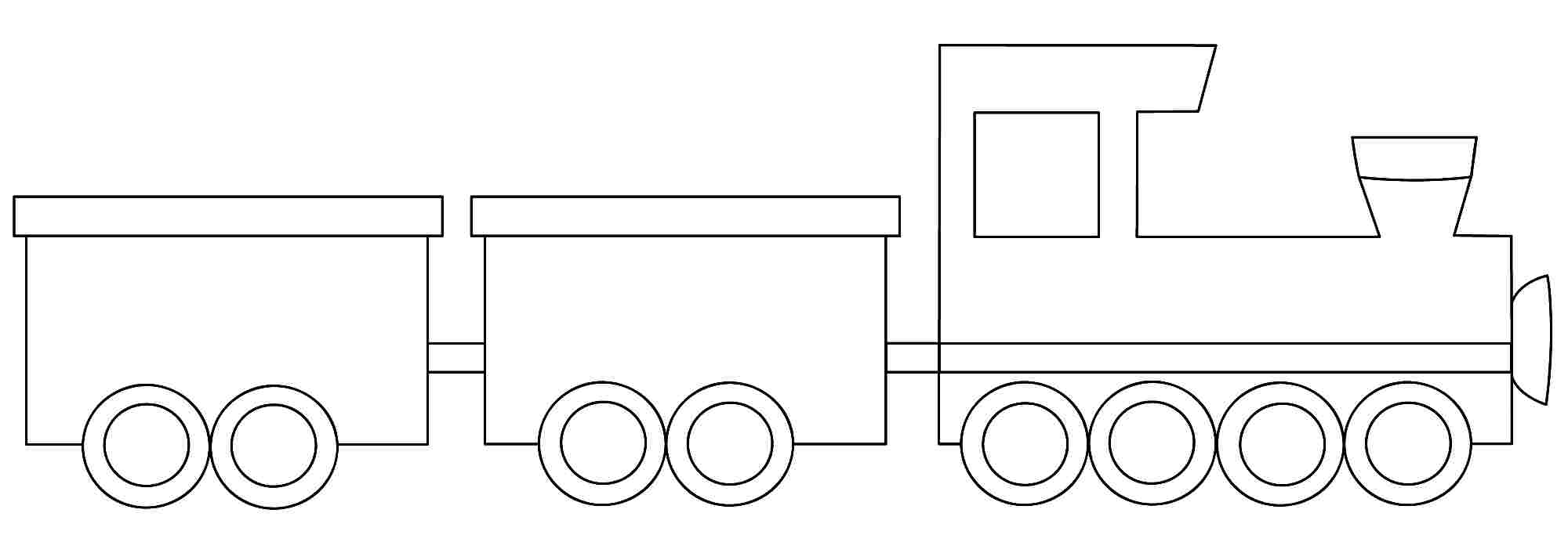 train templates train car template printable free printable train