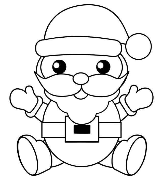 22 Best Printable Christmas Coloring Book Pages - printablee.com