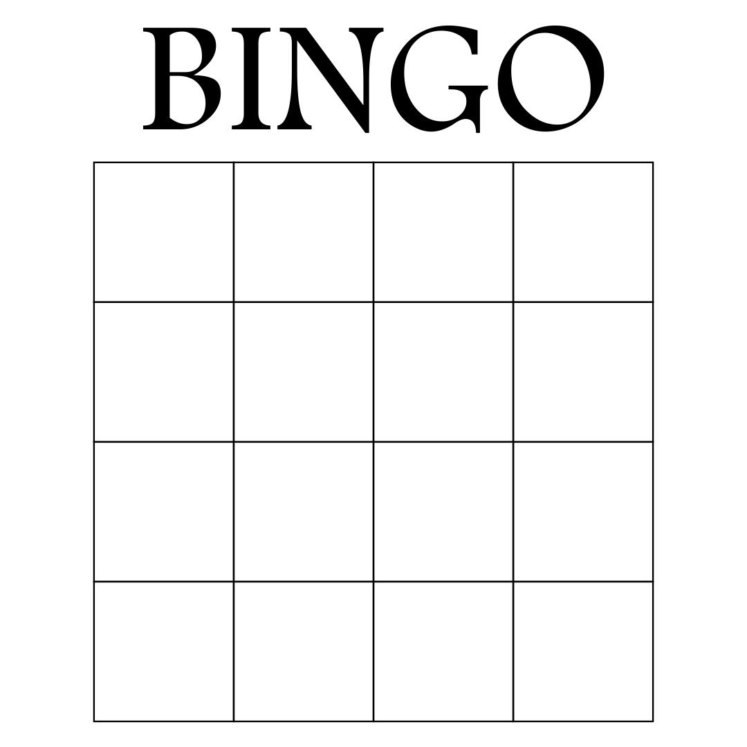 9 Best Images Of Printable Office Bingo