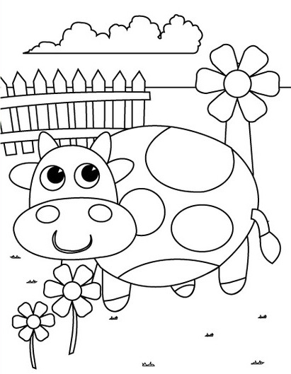4 best images of printable color books for preschoolers free