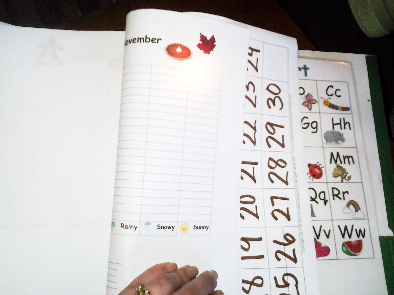 9 Best Images Of Kindergarten Calendar Journal Printables