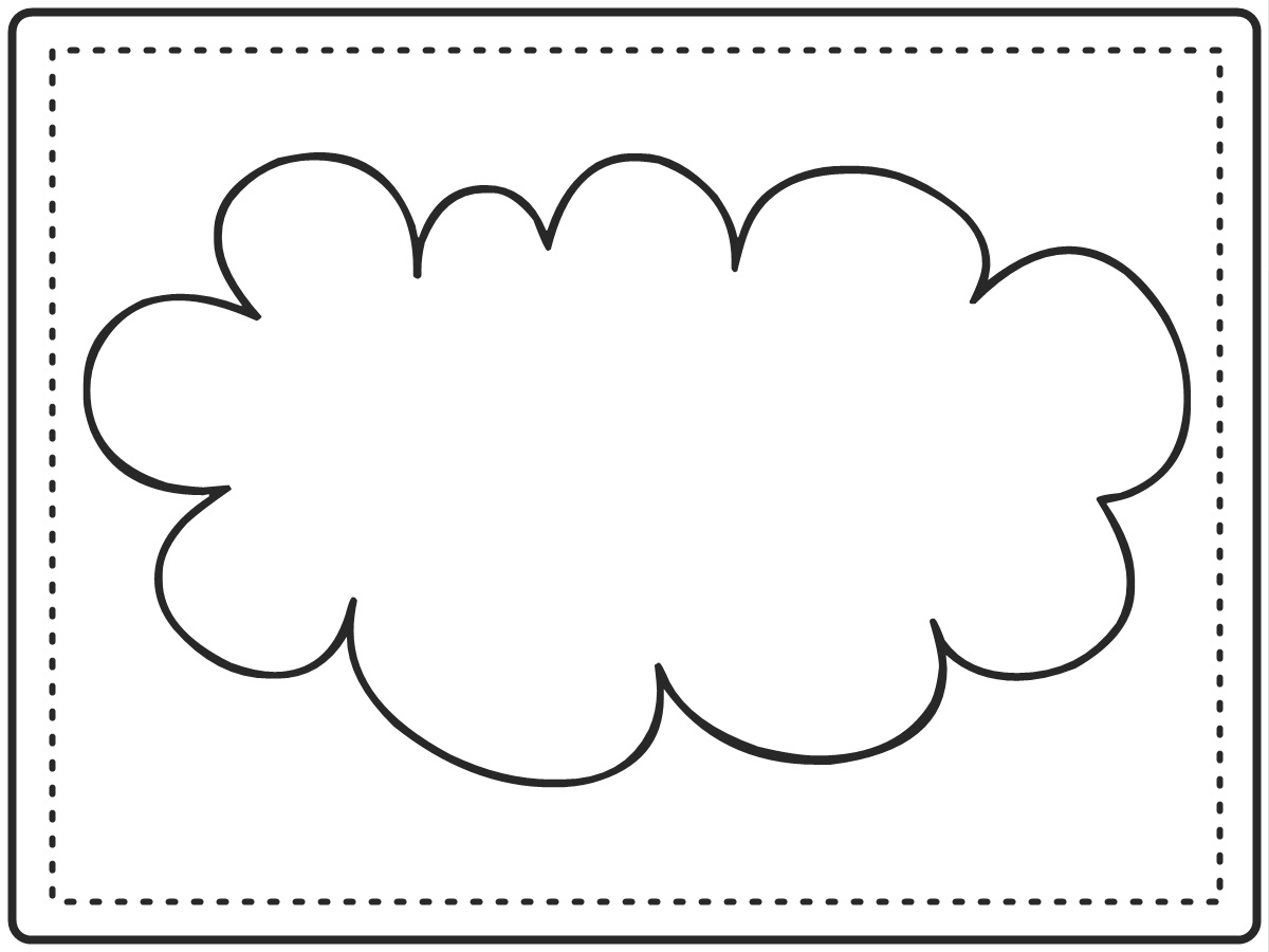image regarding Printable Clouds Cut Out named Cloud Templates. have on 39 t fail to remember in the direction of url towards this web page for