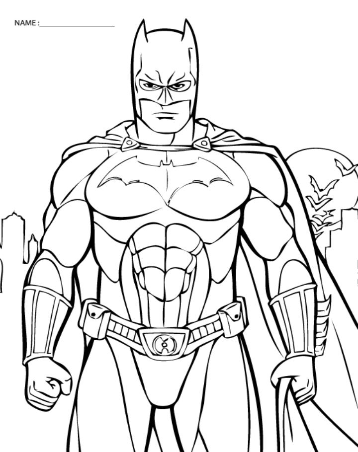 5 Best Images Of Batman Coloring Printables Batman Coloring Pages Print Free Printable Batman Coloring Pages For Kids And Batman Symbol Coloring Page Printablee Com