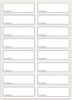 word flashcard template