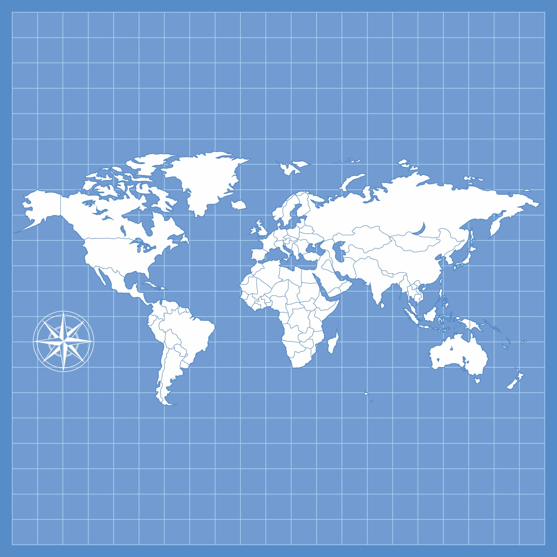 5 Best Images Of Blank World Maps Printable