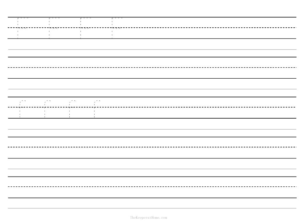 5 Best Images Of Blank Writing Worksheet Printable