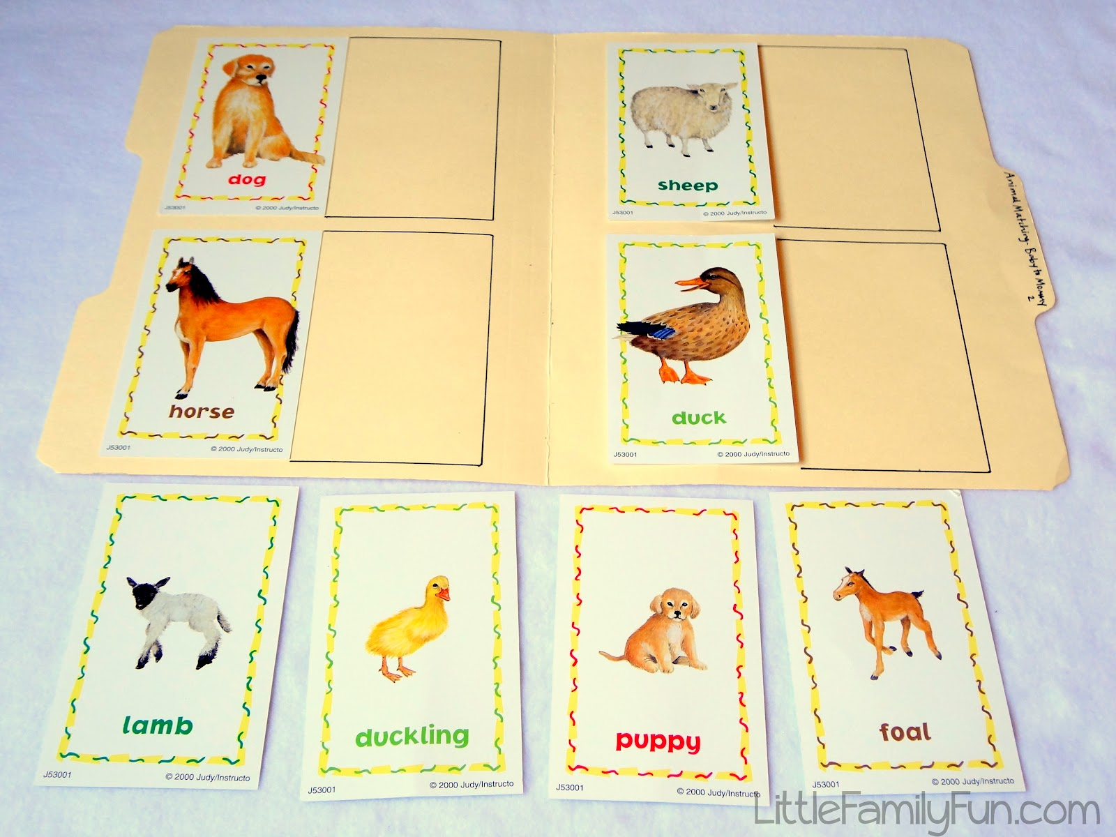 5 Best Images Of Mommy Printable Baby Animal Match