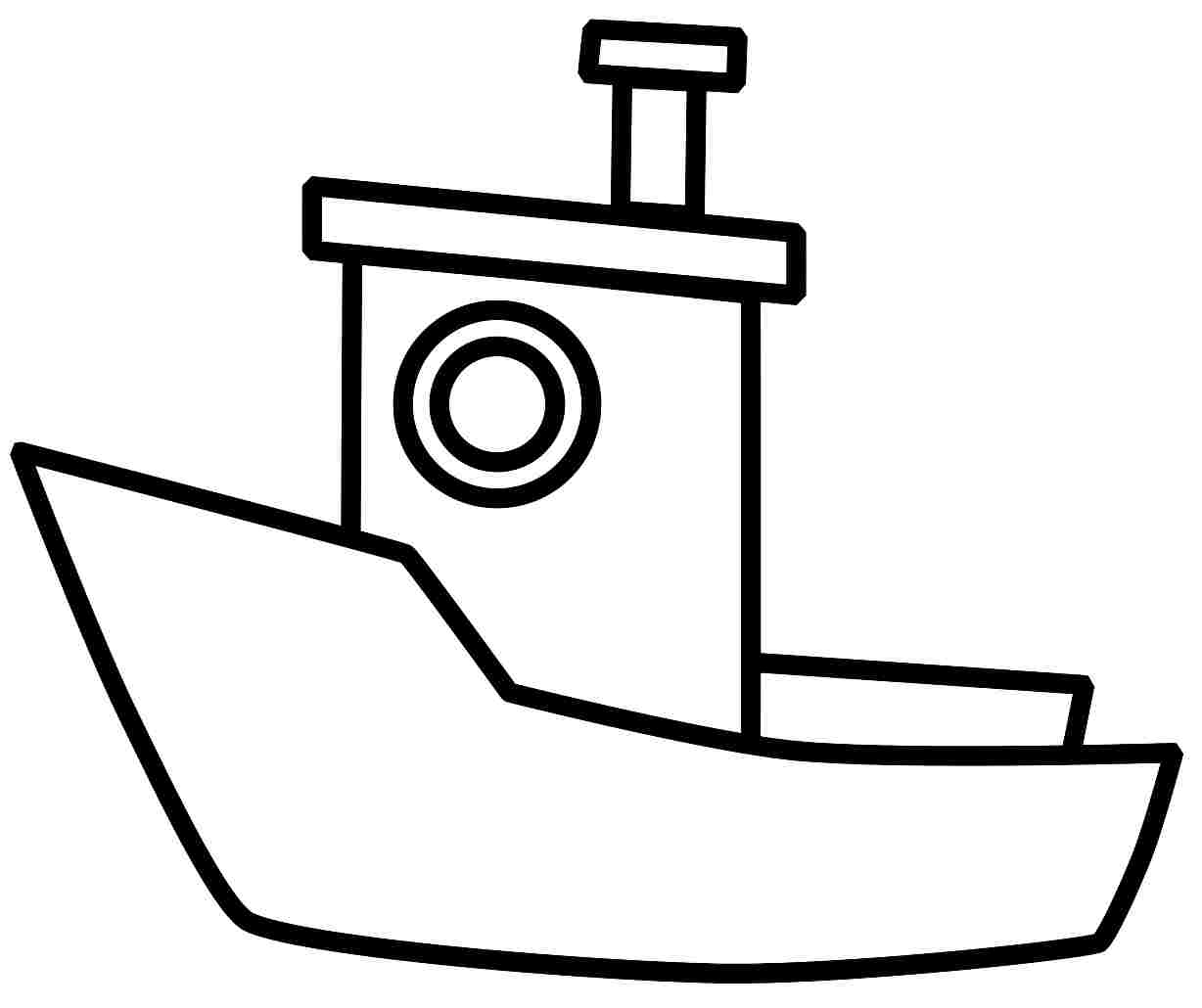 Free Printable Boat Coloring Pages For Kids Sketch Coloring Page