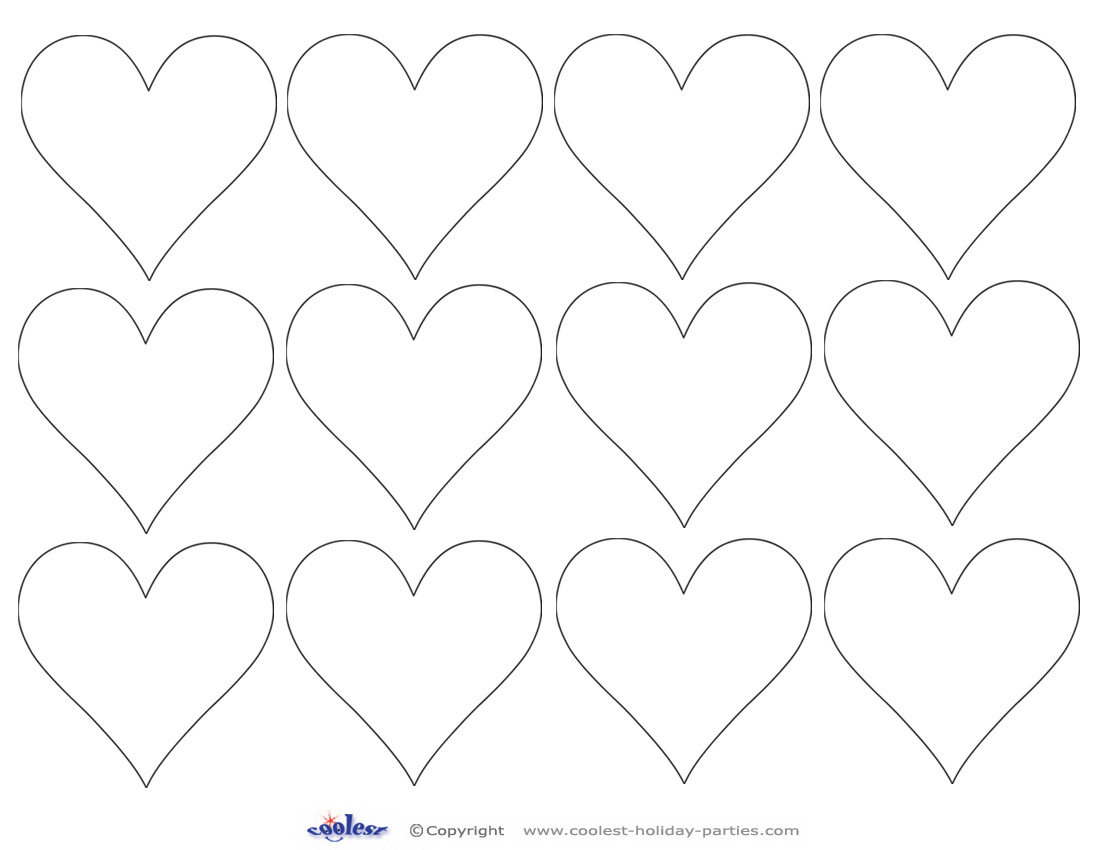 8 Best Images Of Heart Cut Outs Valentine Printables