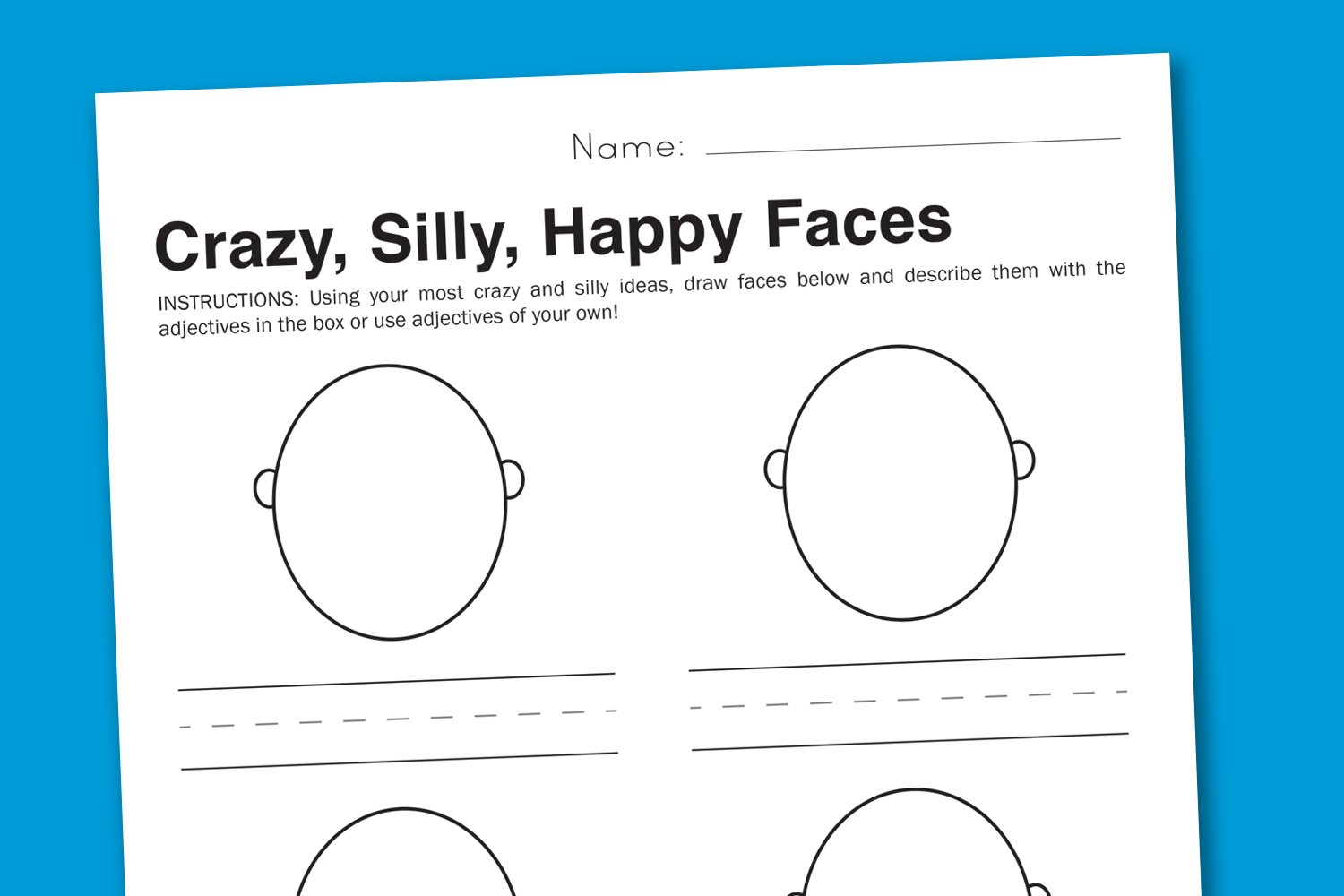 5 Best Images Of Art Worksheets Printable For Adults