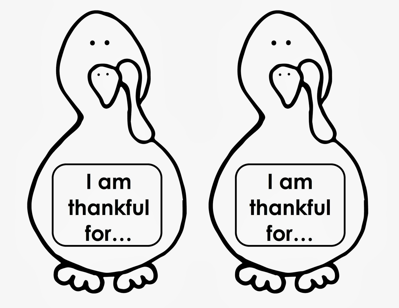5 Best Images Of Turkey Craft Printable Template