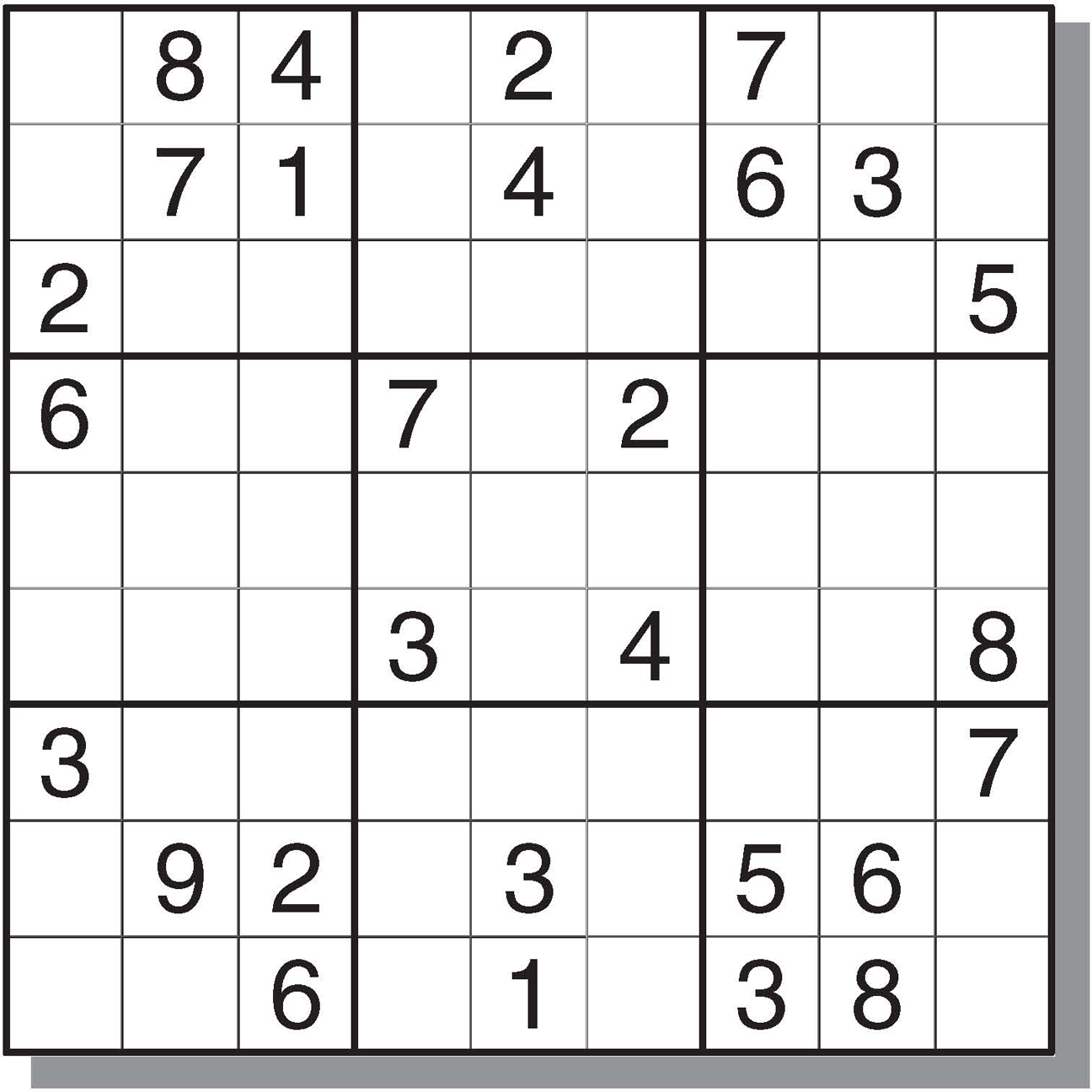 Top Medium Sudoku Printable