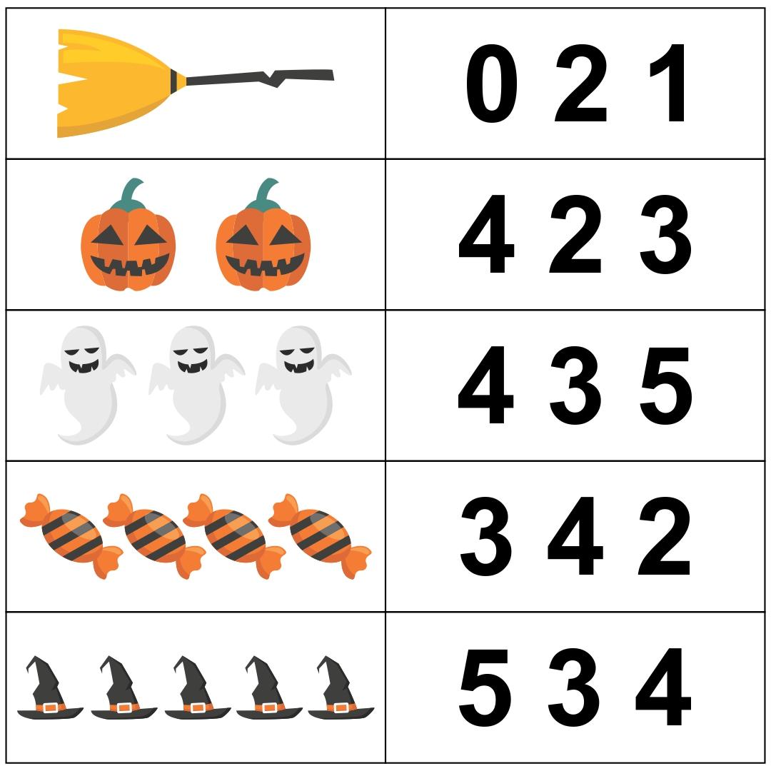 7 Best Images Of Halloween Free Printable Preschool