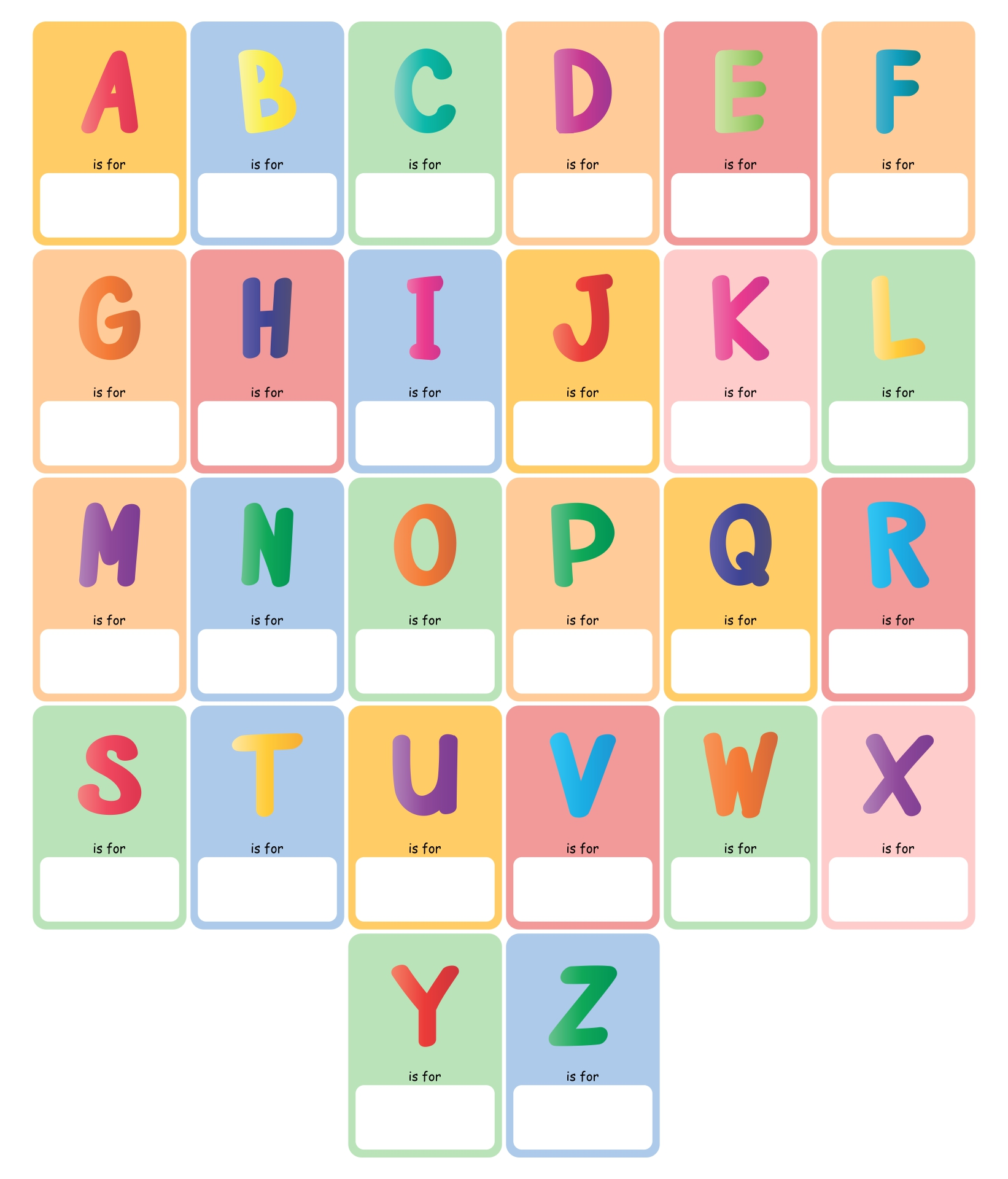 photo regarding Printable Abc Book Template known as Rar Descargar Printable Abc Guide Template. Cuppacocoa