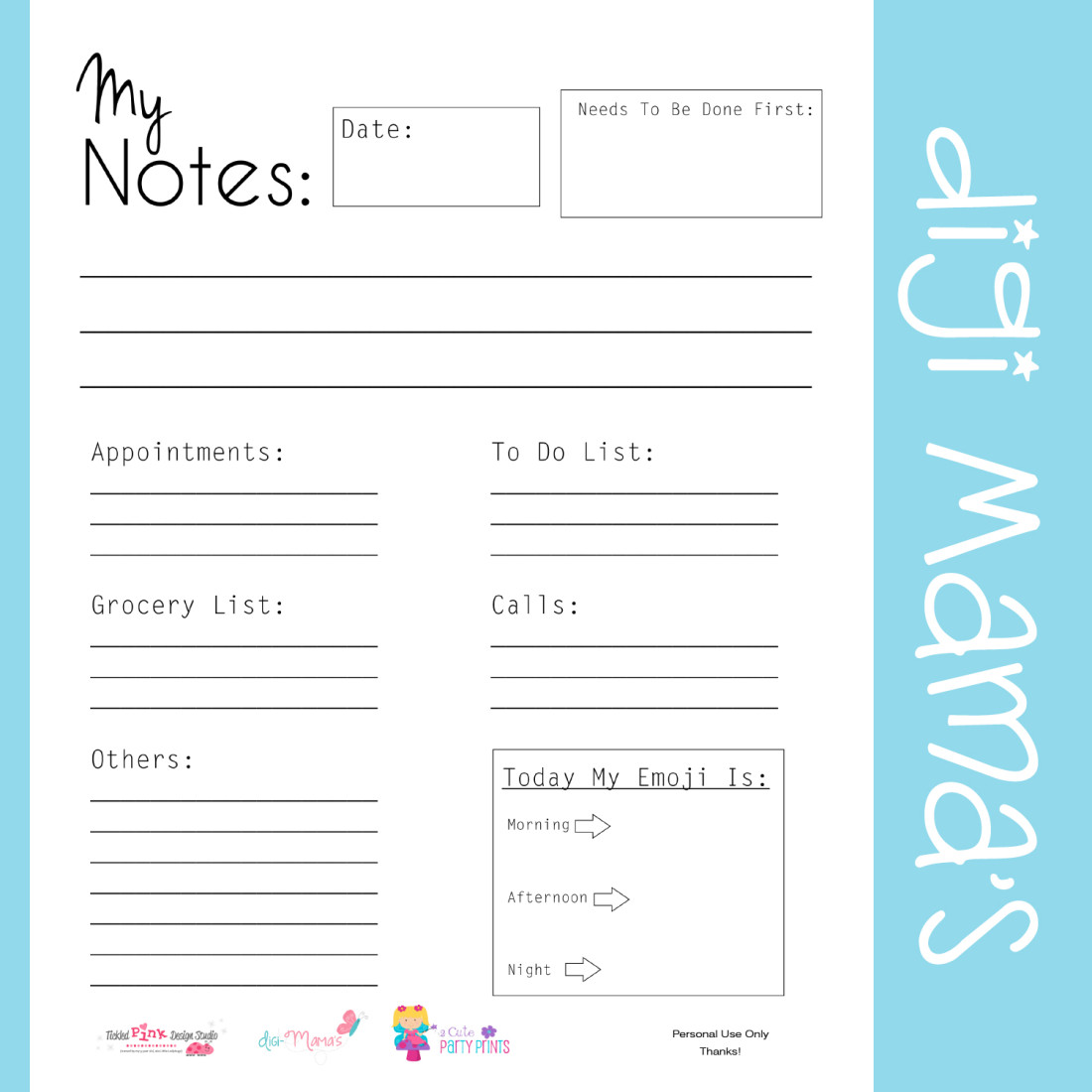 8 Best Images Of Printable Daily Planner Template