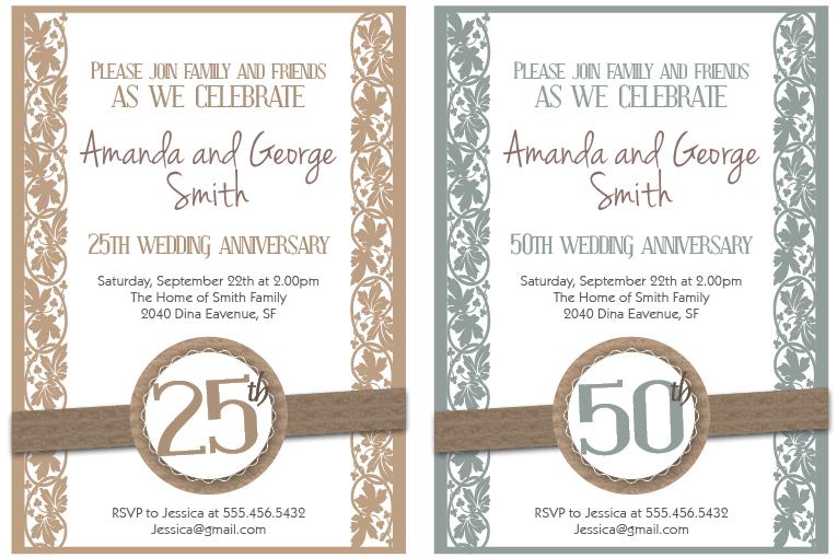 Wedding Anniversary Cards Free Printable Wedding Invitation Ideas – Free Printable Anniversary Cards for Husband