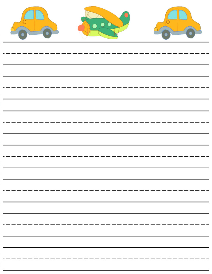 Elementary Lined Paper Template printable lined paper payslip – Elementary Lined Paper Template
