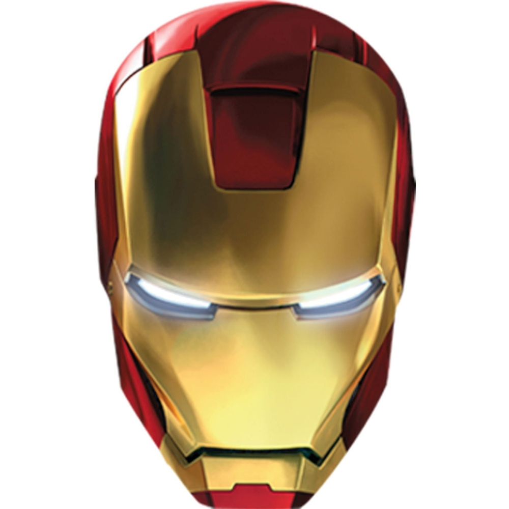iron man mask stencil and iron man mask logo printablee com