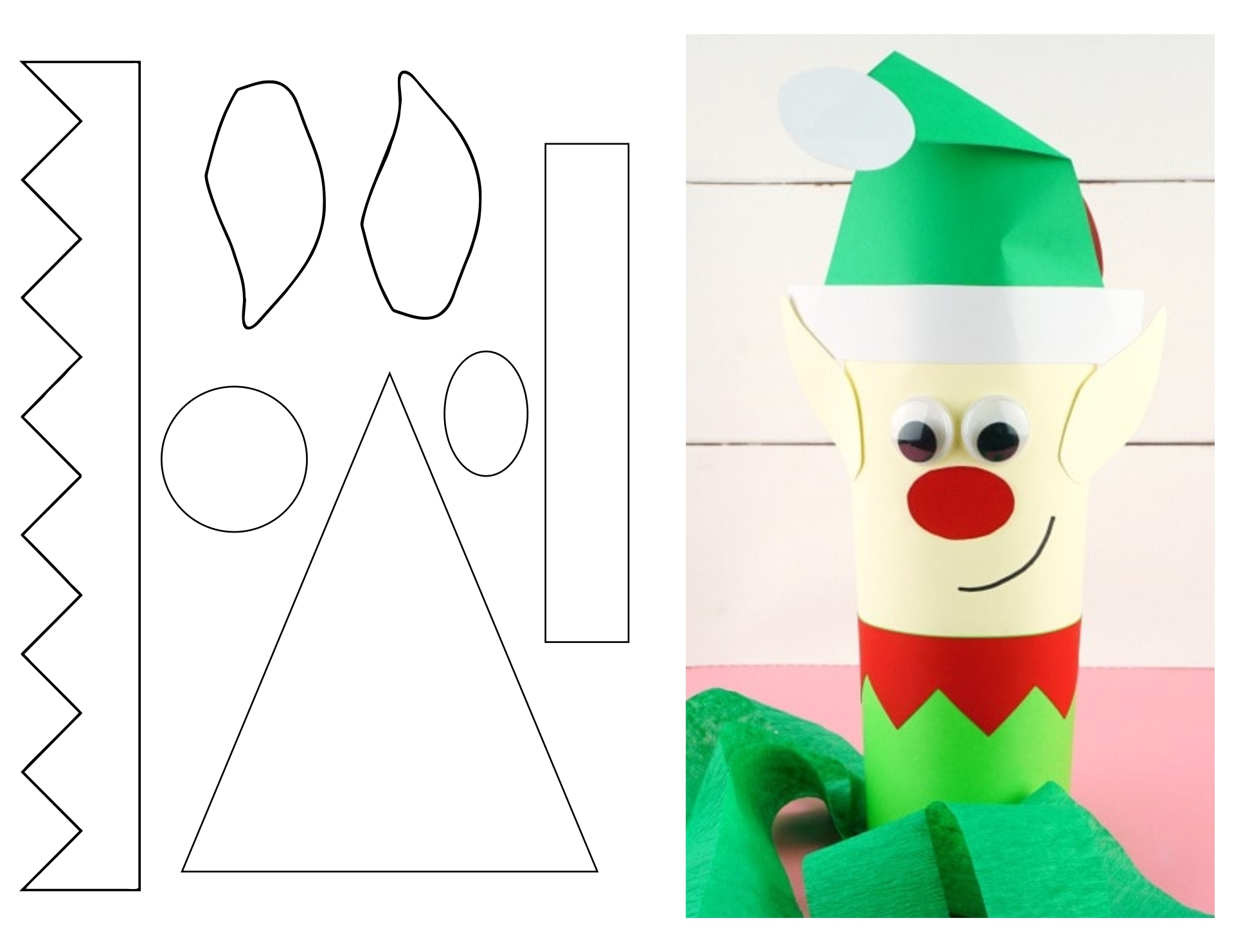 7 Best Images Of Christmas Crafts Free Printable Patterns