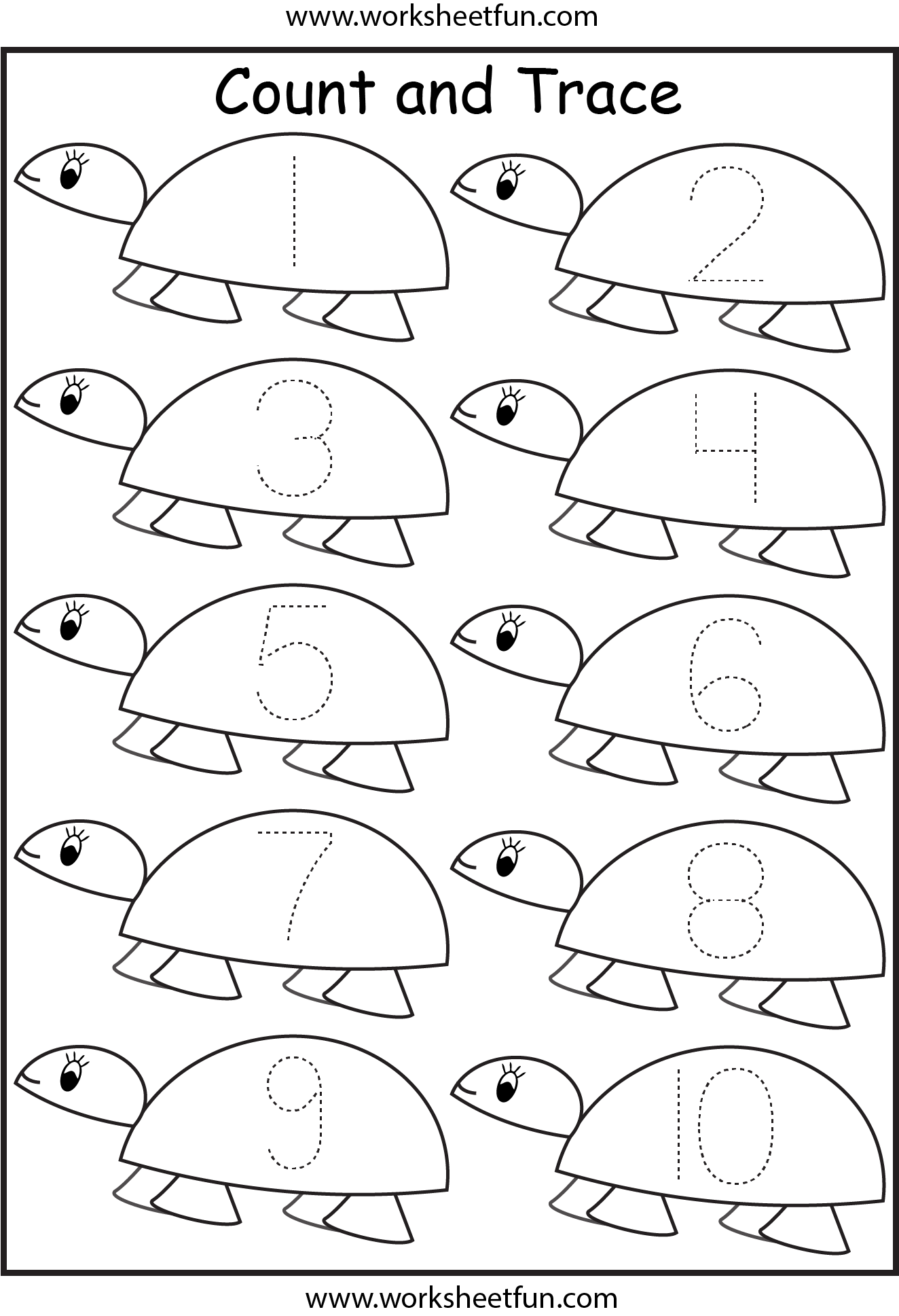 5 Best Images Of Preschool Printables Number 12
