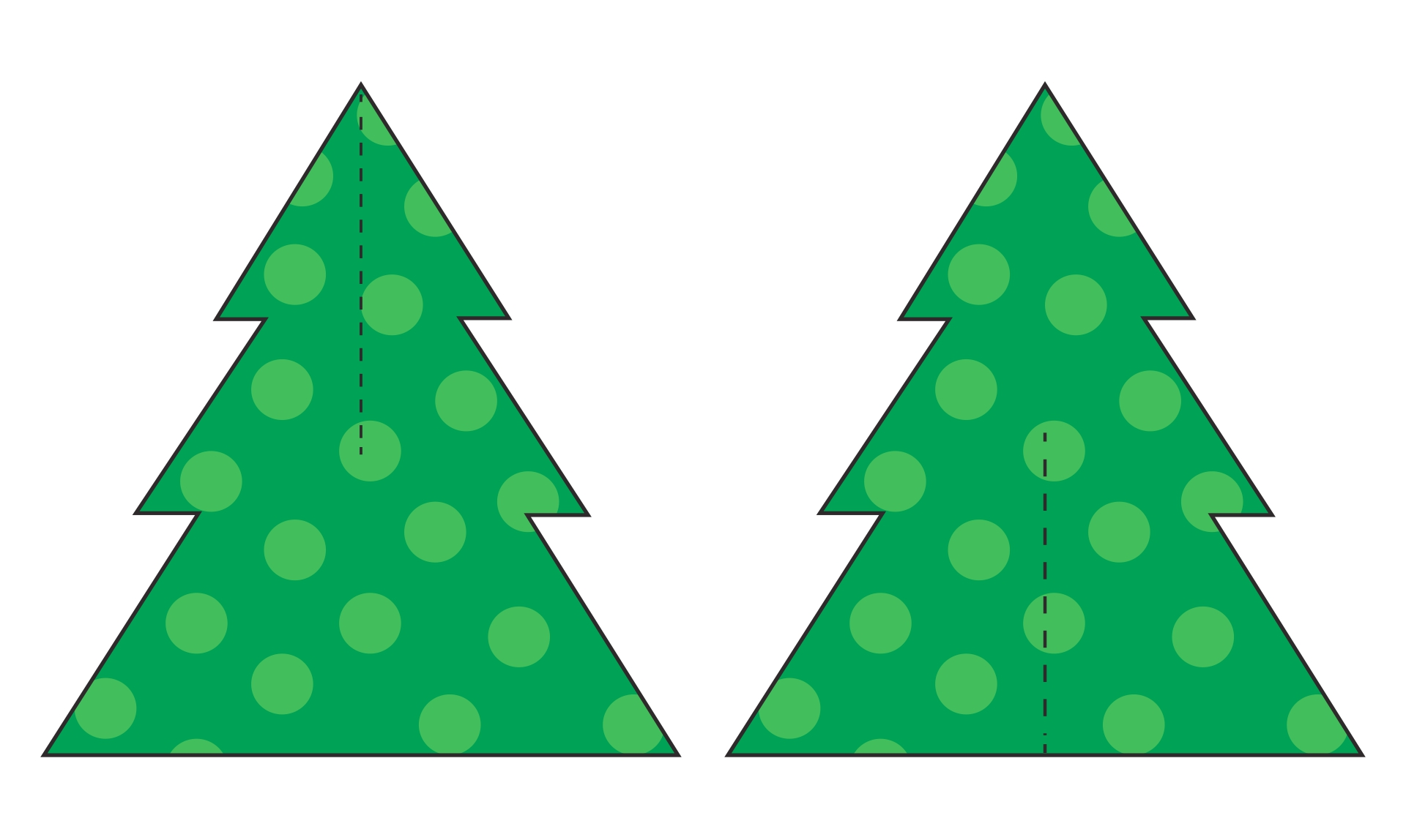 5 Best Images Of Printable 3d Paper Christmas Trees