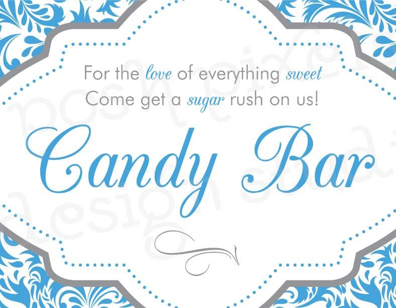 Terrific Candy Buffet Sign Template 7 Best Images Of Candy Buffet Interior Design Ideas Clesiryabchikinfo