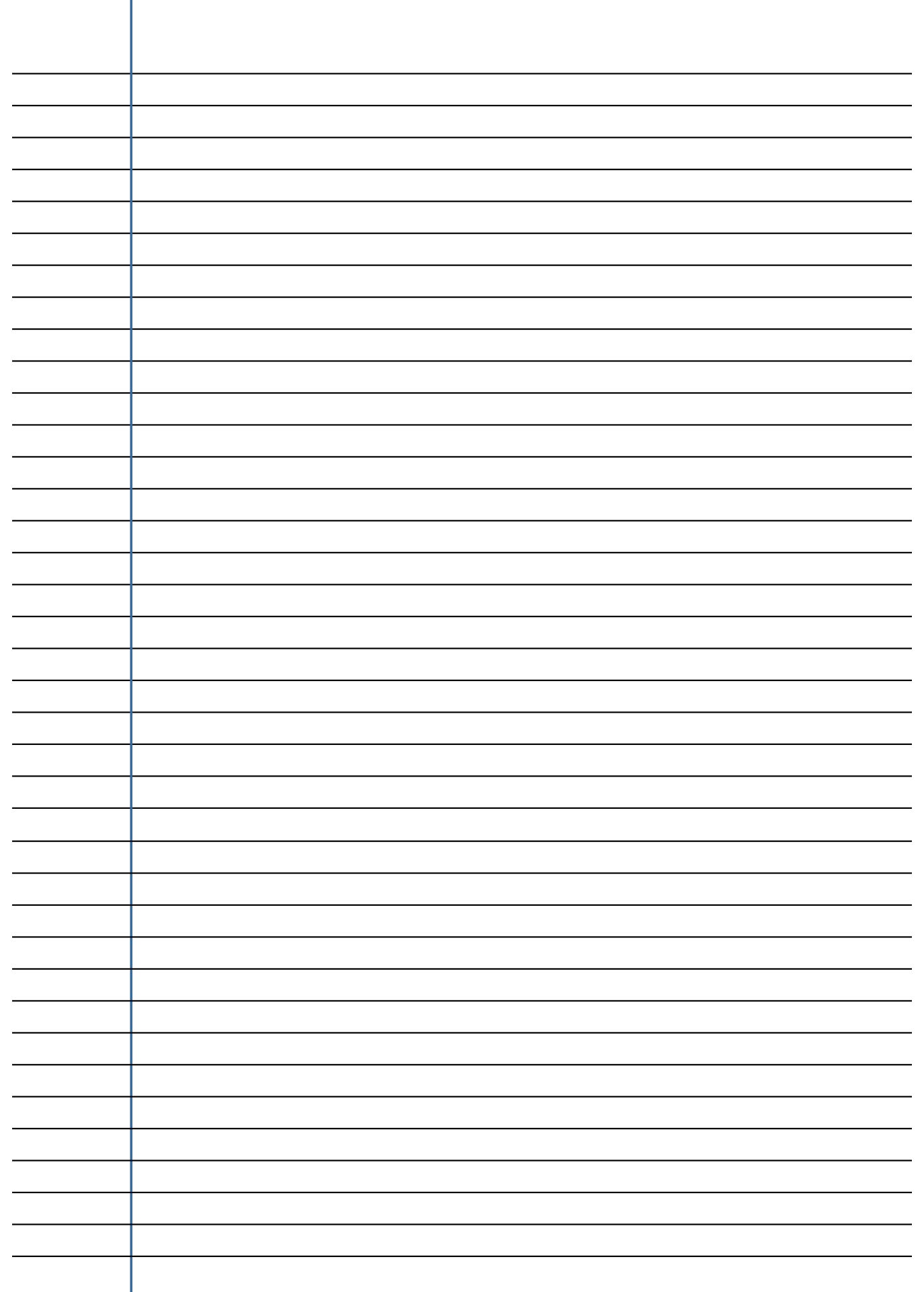 Cover Letter Template Freeprintable college ruled paper paper – Vertical Lined Paper