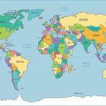 4 Best Simple World Map Printable Printablee Com