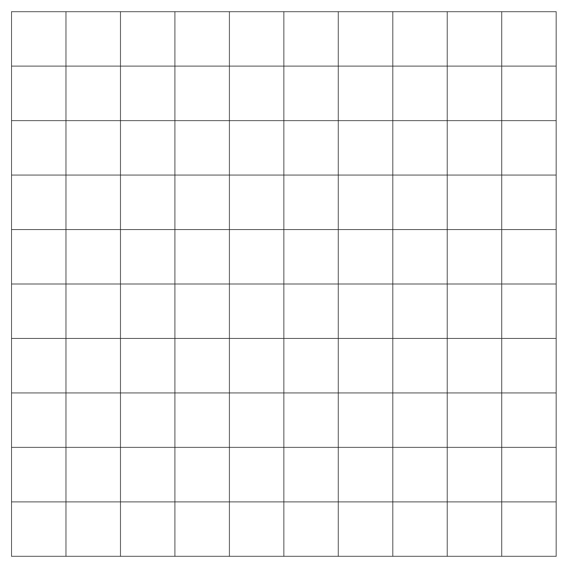 Worksheet Printable Blank 10 Frames