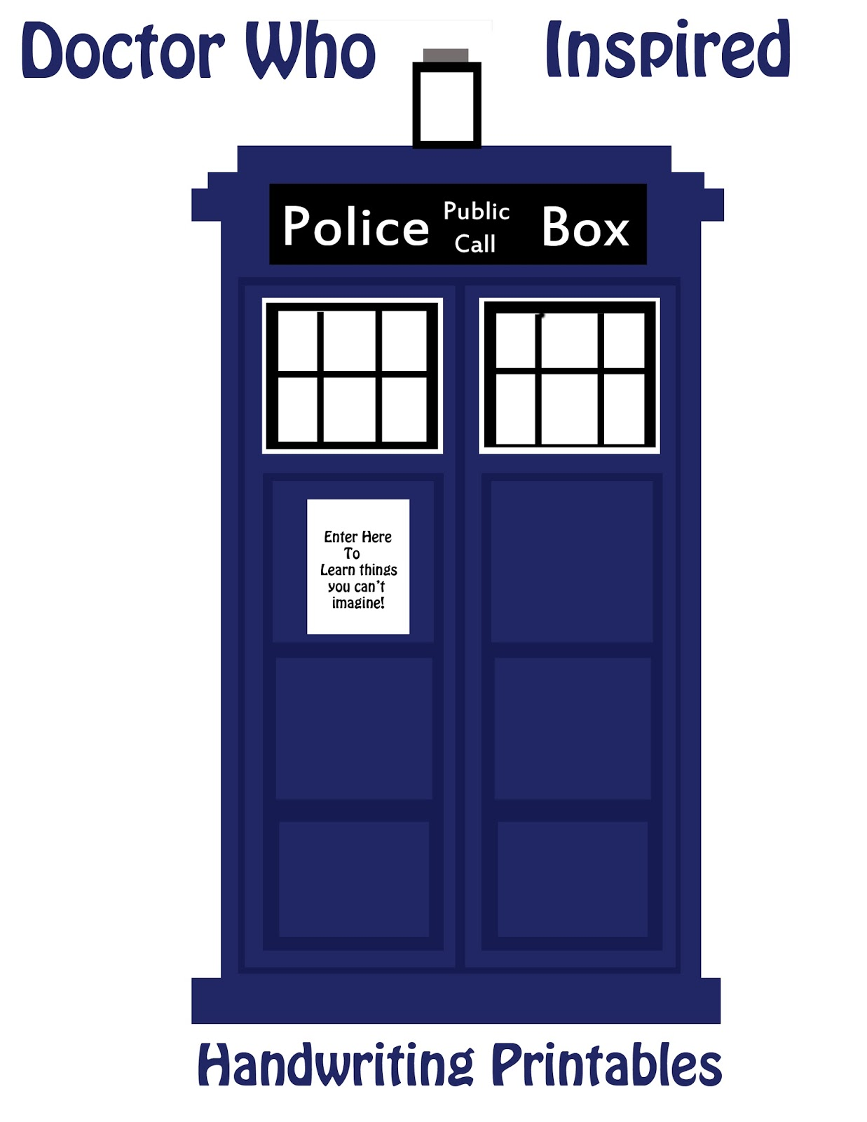 6 Best Images Of Doctor Who Printables