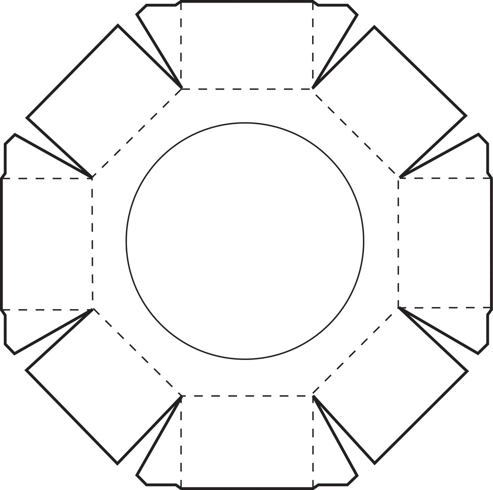 4 Best Images Of Hexagon 3d Shape Templates Printable