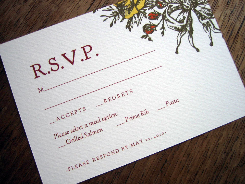 Free Rsvp Template rsvp postcard template free sample wreath – Free Wedding Rsvp Cards