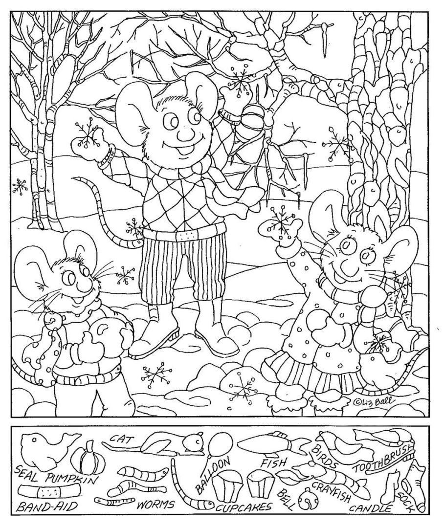 Addition Hidden Picture Worksheet