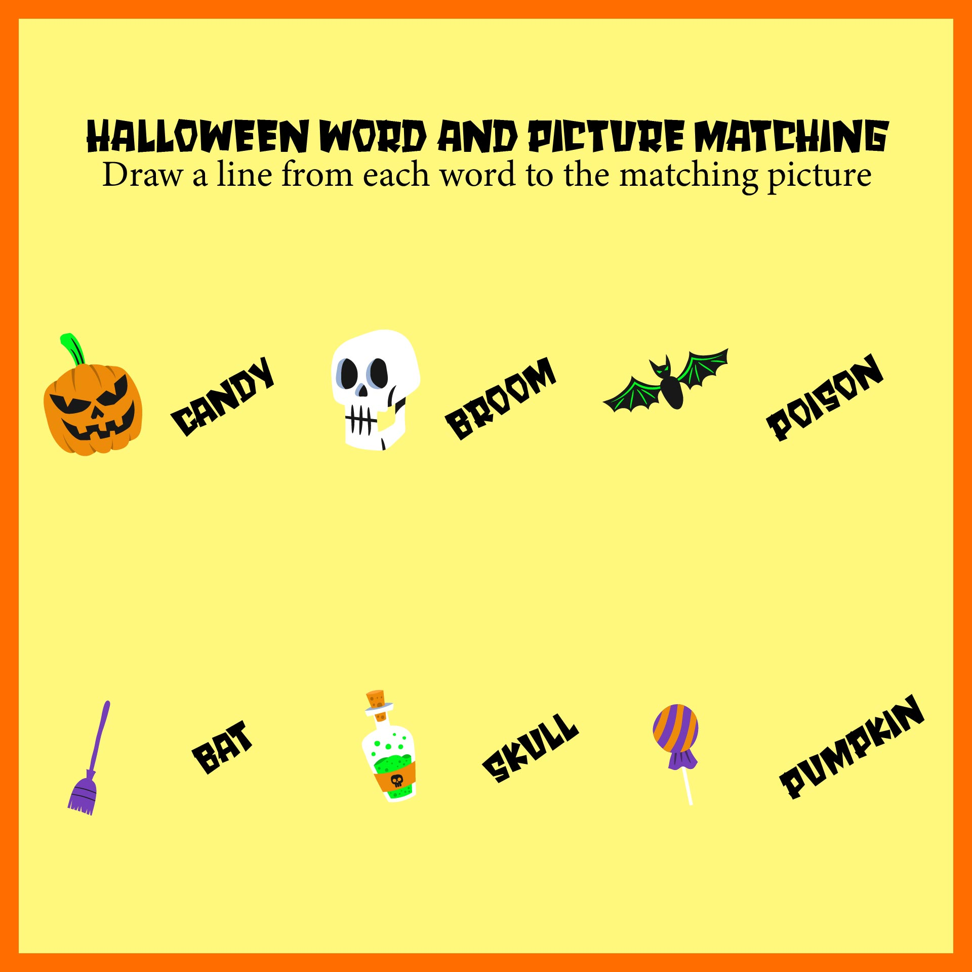 5 Best Images Of Halloween Printable Phonics Worksheets