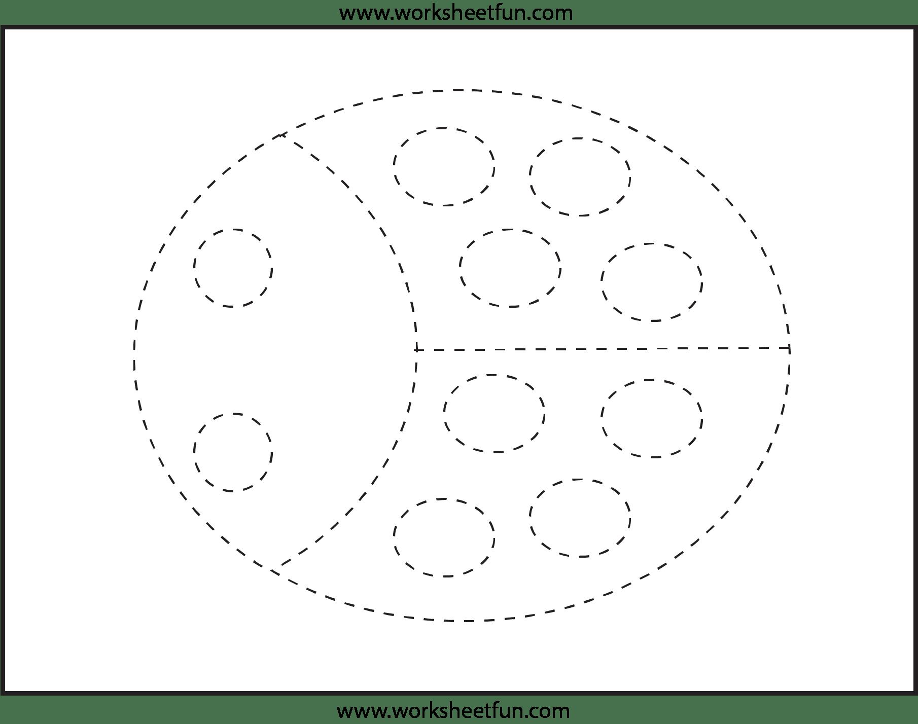 7 Best Images Of Preschool Tracing Worksheets Free