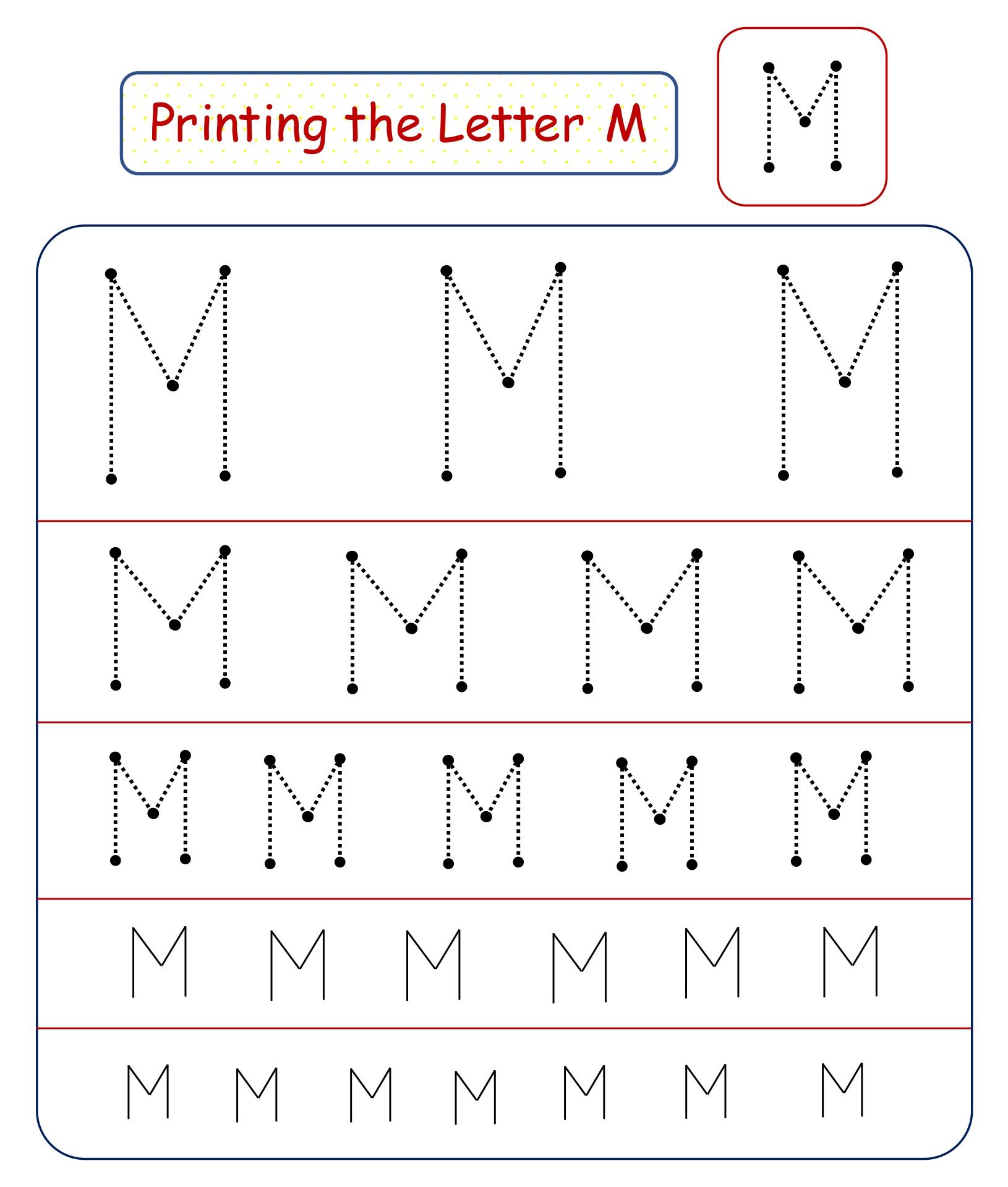9 Best Images Of Free Preschool Do A Dot Printables Letter