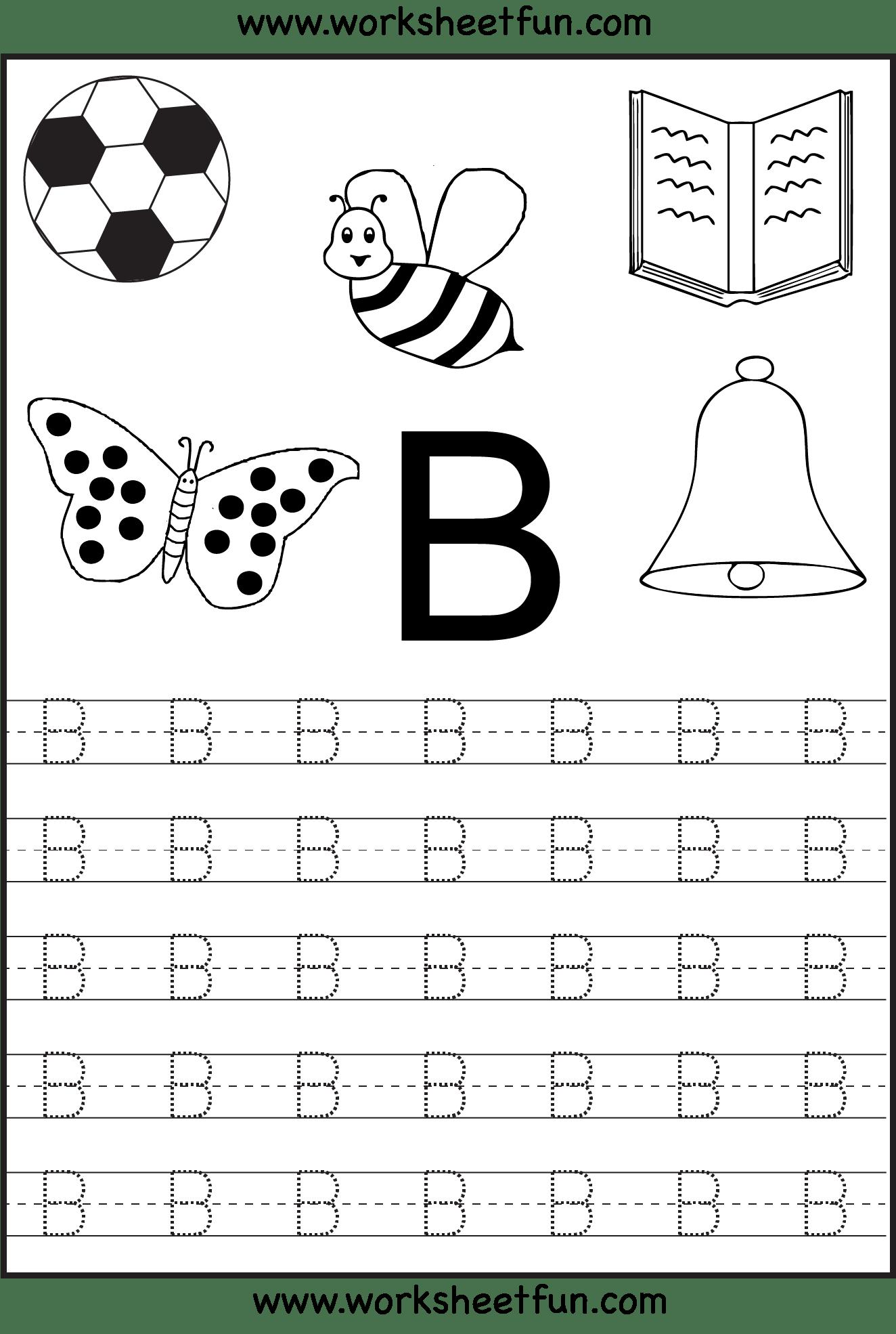 6 Best Images Of Printable Alphabet Letter B Worksheets