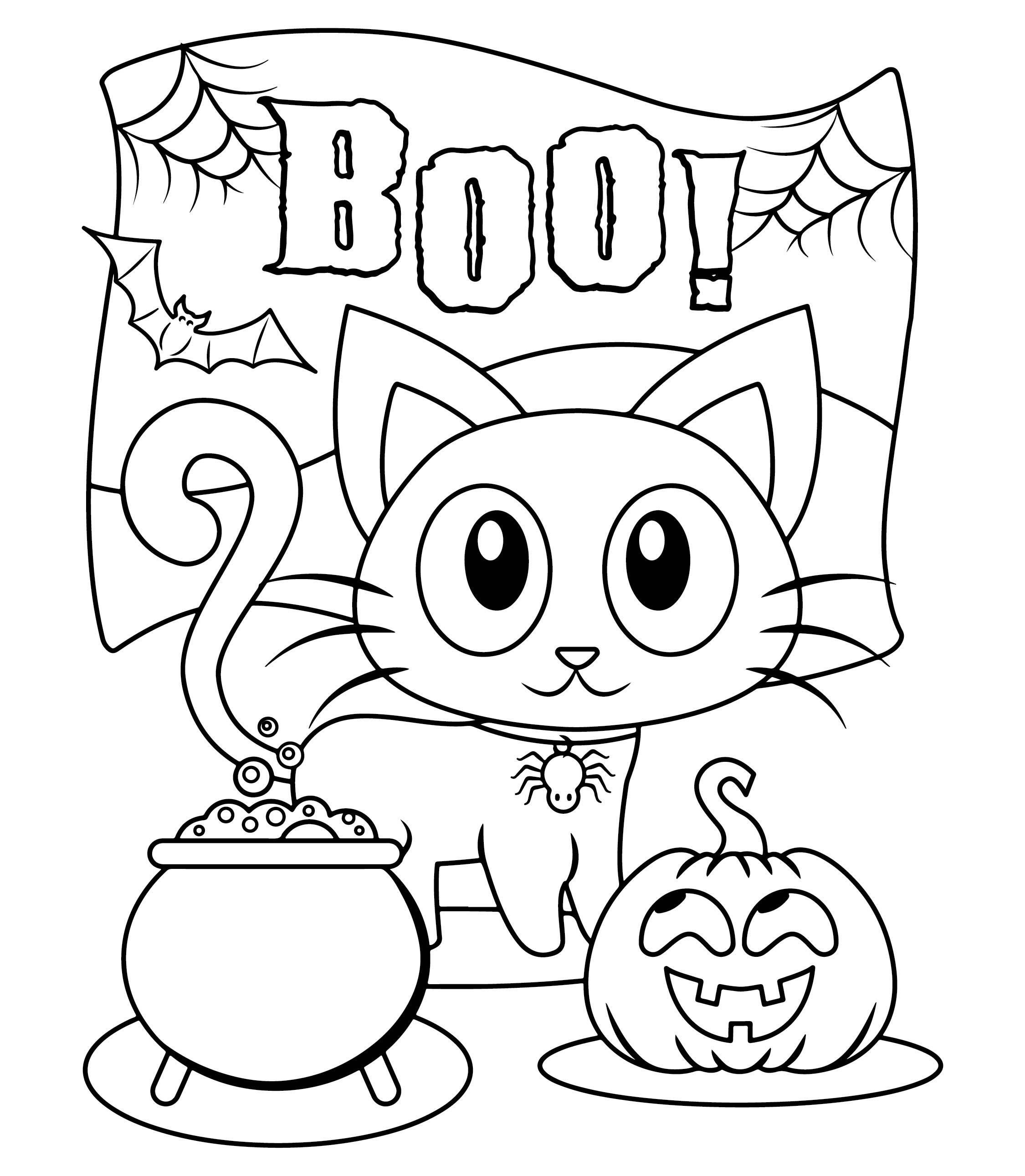 6 Best Images Of Kindergarten Halloween Craft Printables