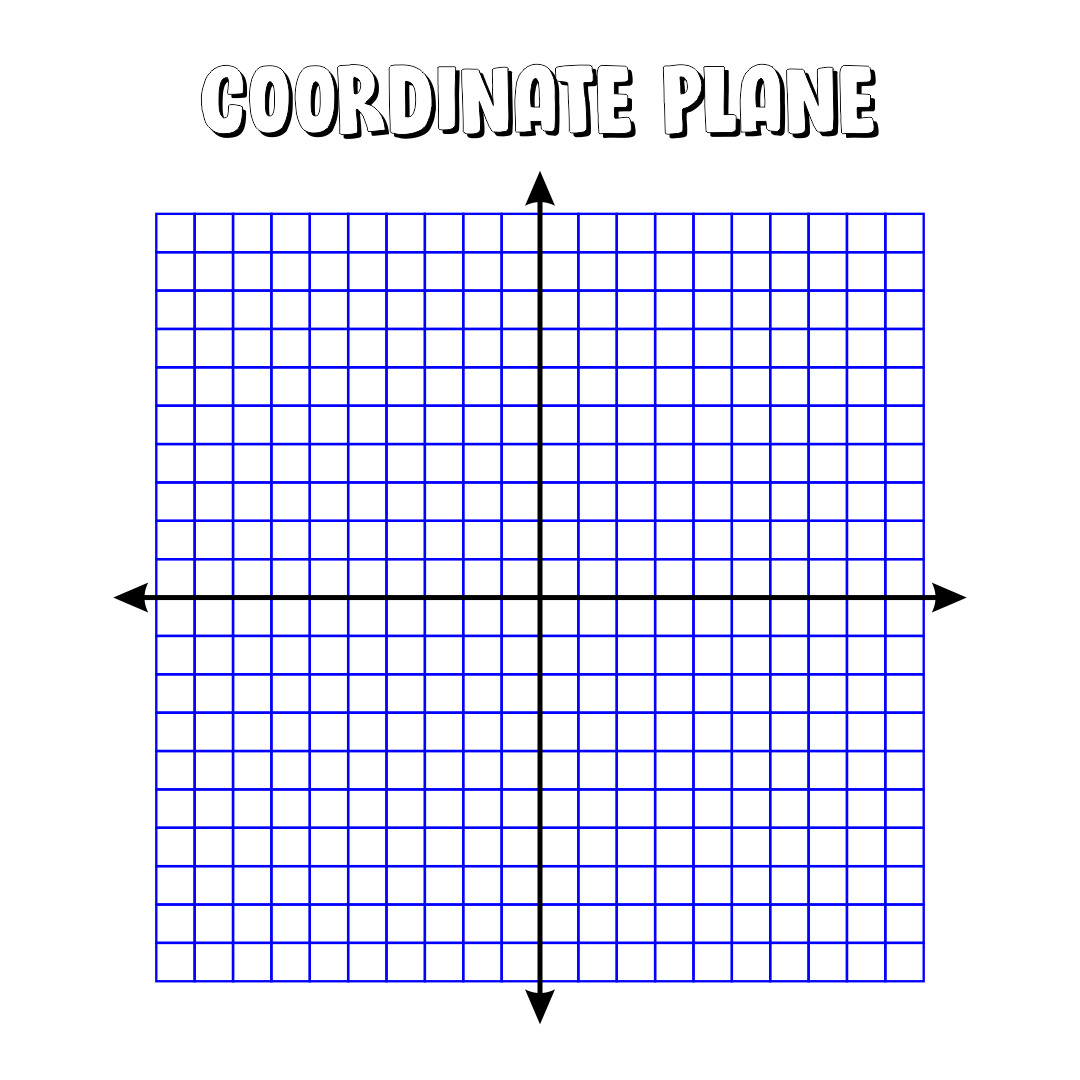 6 Best Printable Coordinate Picture Graphs