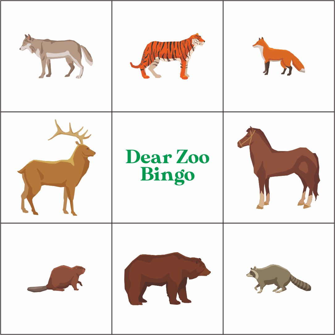5 Best Images Of Dear Zoo Printables
