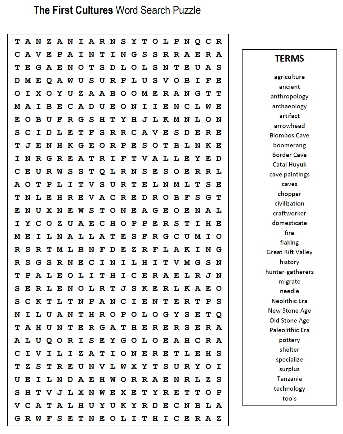 8 Best Images Of Social Stu S Word Search Printable