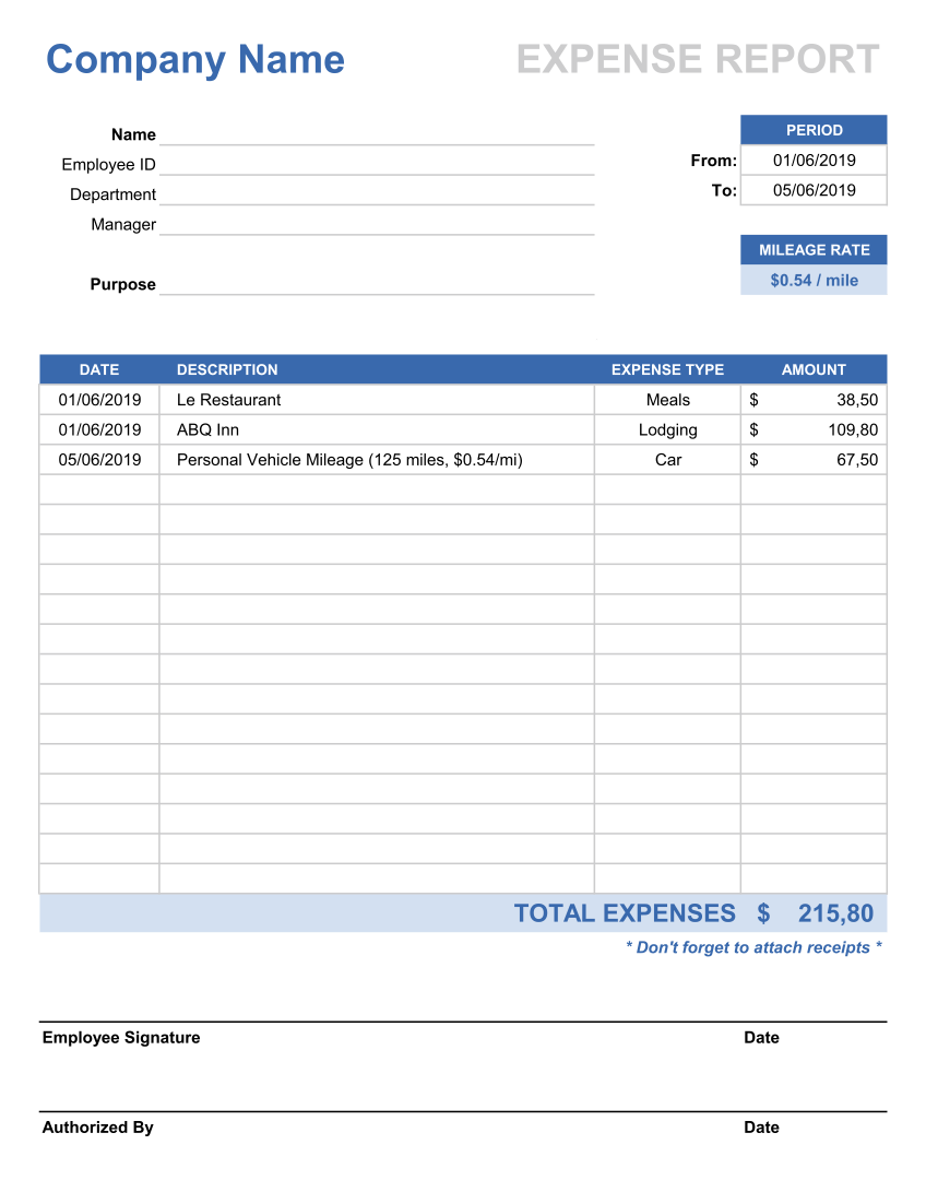 Expense Budget Log Book Template Excel Online Business