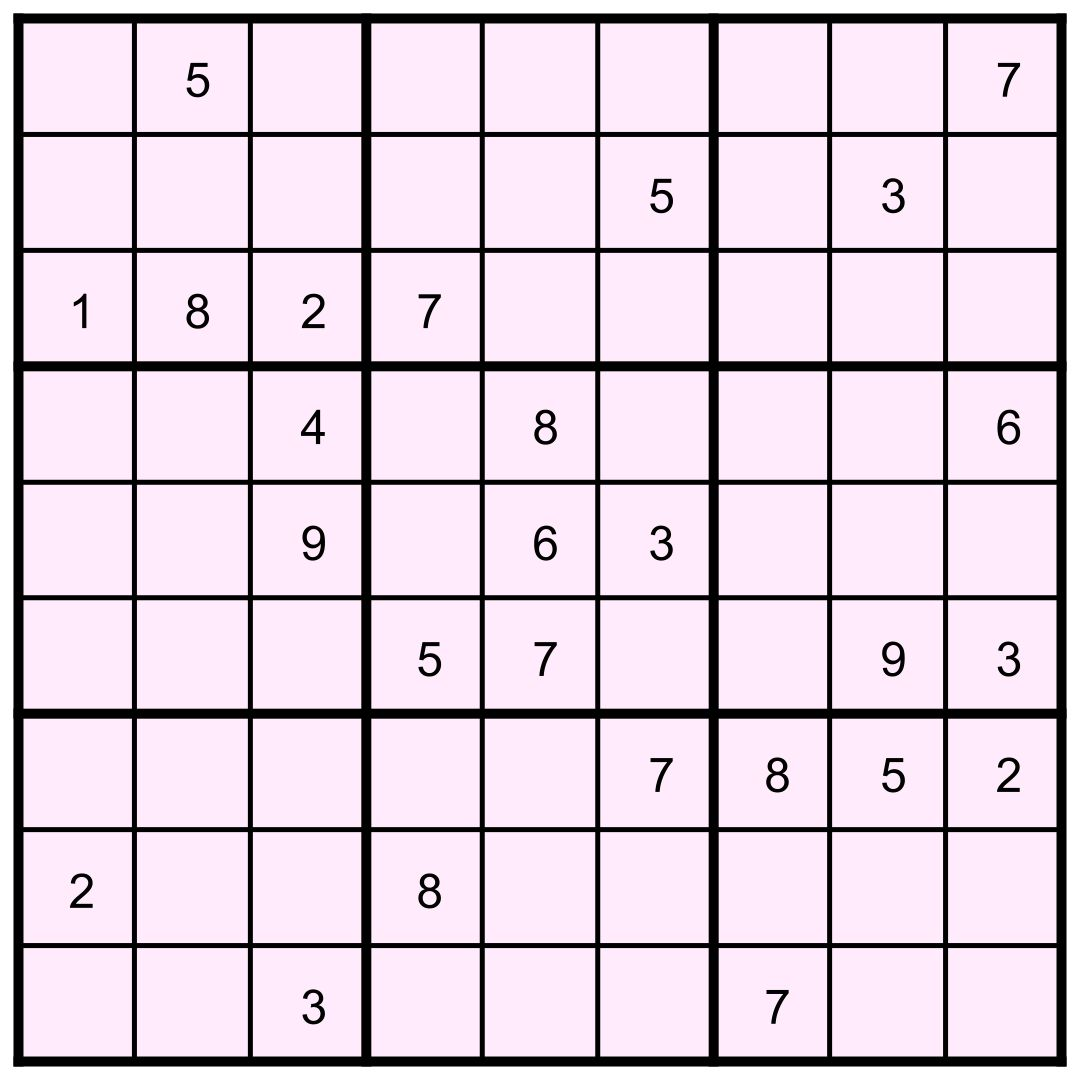 6x6 Grid Pictures To Pin