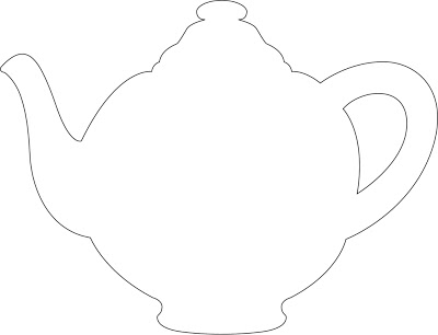 picture relating to Teapot Template Printable known as Printable Teapot Template. messy small monster teapot craft