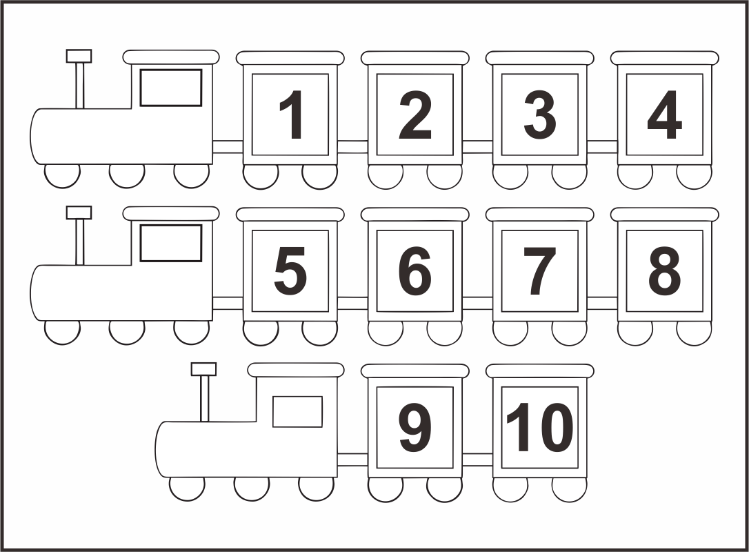 8 Best Images Of Numbers 1 10 Chart Preschool Printables