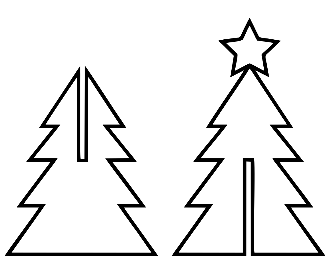 5 Best Images Of 3d Christmas Tree Printable Templates