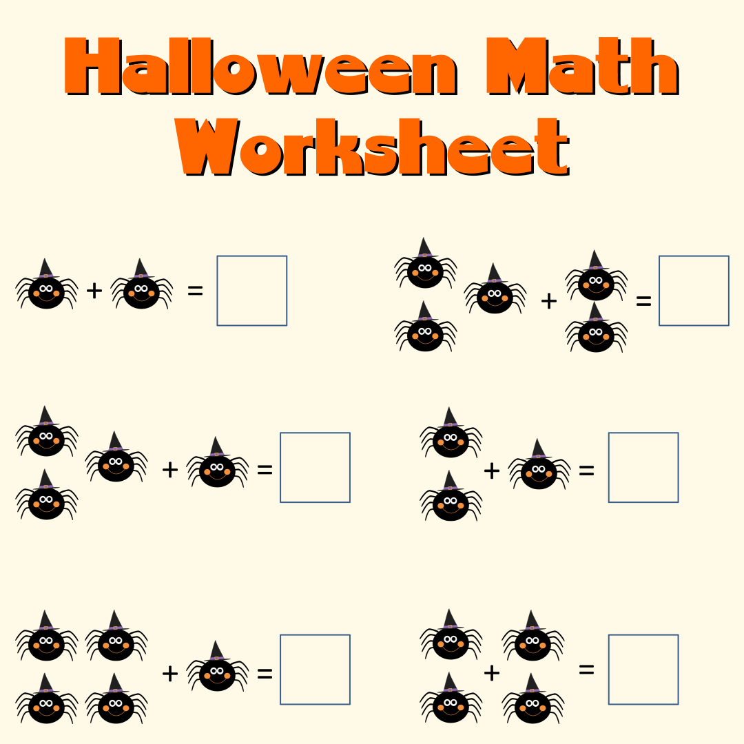 8 Best Free Printable Halloween Worksheets Kindergarten